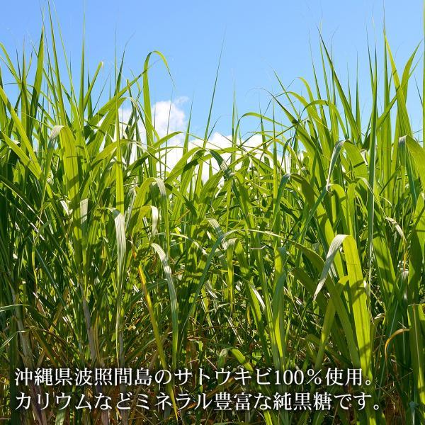 波照間島の黒糖 200g×3袋 波照間産純黒糖 送料無料|jonetsukokuto|03