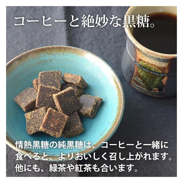 情熱の純黒糖 200g入 さとうきび100%の無添加純黒糖 沖縄産黒砂糖 jonetsukokuto 04