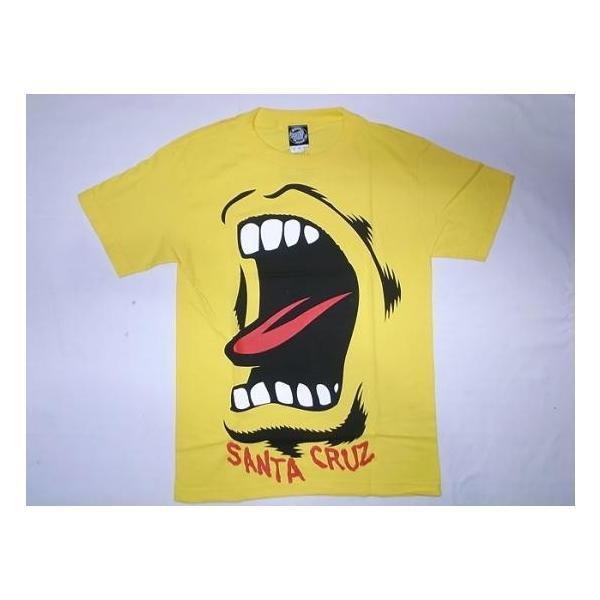 JONNY BEE ジョニービー 別注 限定 SANTA CRUZ サンタクルーズ ビッグハンド Tシャツ 黄 イエロー