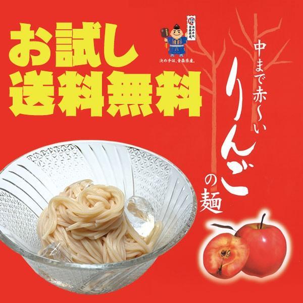 送料無料(乾麺)りんごの麺200g×2(4人前)竹鼻製麺所