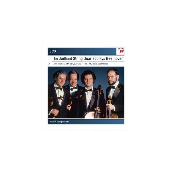 [枚数限定][限定盤]ベートーヴェン:弦楽四重奏曲全集(1982録音)【輸入盤】▼/ジュリアード弦楽四重奏団[CD]【返品種別A】