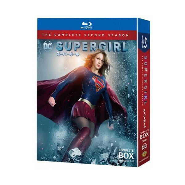 枚数  SUPERGIRL/スーパーガール〈セカンド・シーズン〉ブルーレイコンプリート・ボックス/メリッサ・ブノワ Blu-r