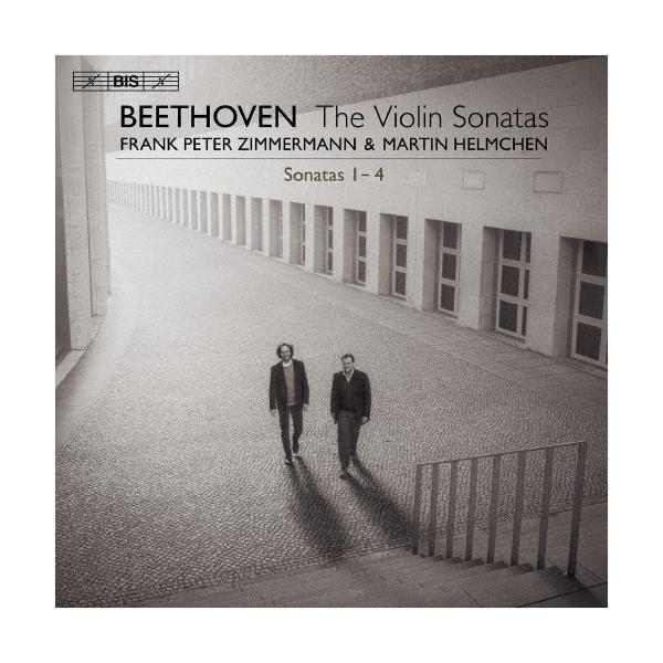 ベートーヴェン:ヴァイオリン・ソナタ集 Vol.1 第1番、第2番、第3番、第4番/フランク・ペーター・ツィンマーマン[HybridCD]【返品種別A】