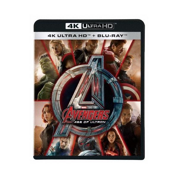 アベンジャーズ/エイジ・オブ・ウルトロン4KUHD/ロバート・ダウニーJr. Blu-ray  返品種別A