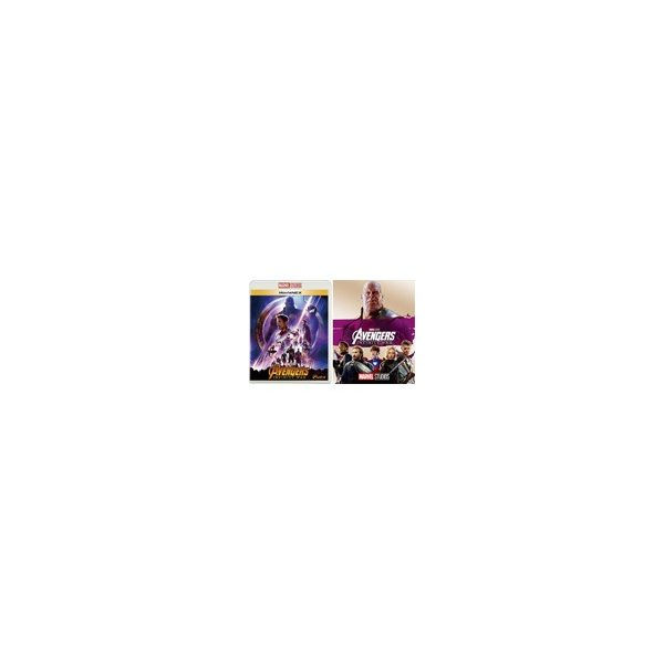 アベンジャーズ/インフィニティ・ウォーMovieNEX(アウターケース付き)/ロバート・ダウニーJr. Blu-ray  返品種