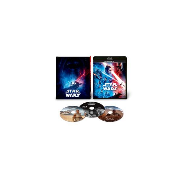 [枚数限定][限定版]スター・ウォーズ/スカイウォーカーの夜明け MovieNEX【初回版】[2Blu-ray&DVD]/デイジー・リドリー[Blu-ray]【返品種別A】