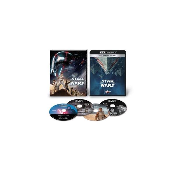 スター・ウォーズ/スカイウォーカーの夜明け 4K UHD MovieNEX[4KUHD&3D Blu-Ray&2Blu-ray]/デイジー・リドリー[Blu-ray]【返品種別A】