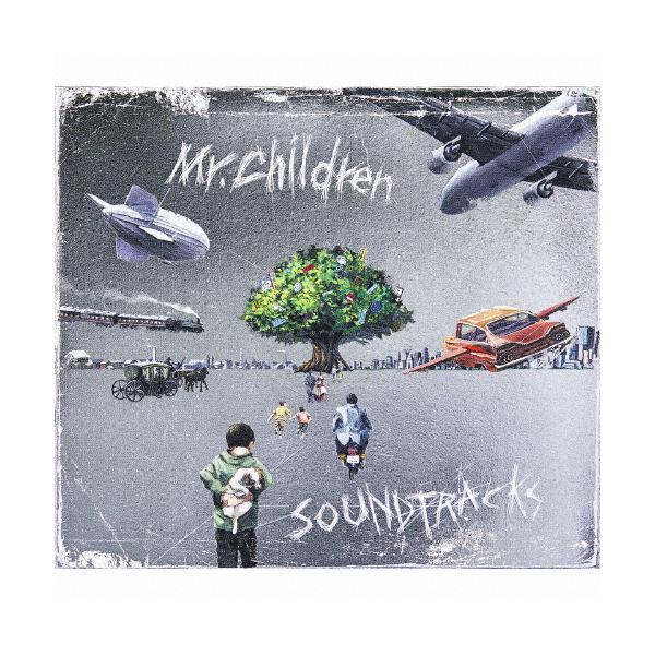 [枚数限定][限定盤]SOUNDTRACKS(初回限定盤B)【CD+Blu-ray+ブックレット】/Mr.Children[CD+Blu-ray]【返品種別A】の画像