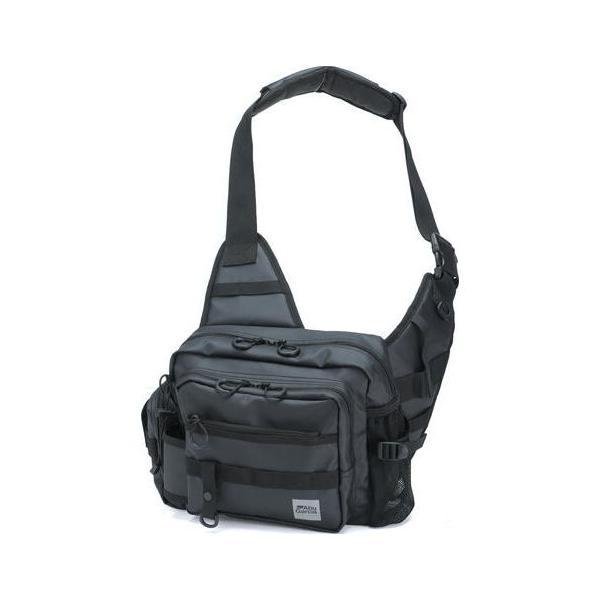 アブガルシア ワンショルダーバッグ3(コーティングブラック) AbuGarcia One Shoulder bag 3 1547273 返品種別A