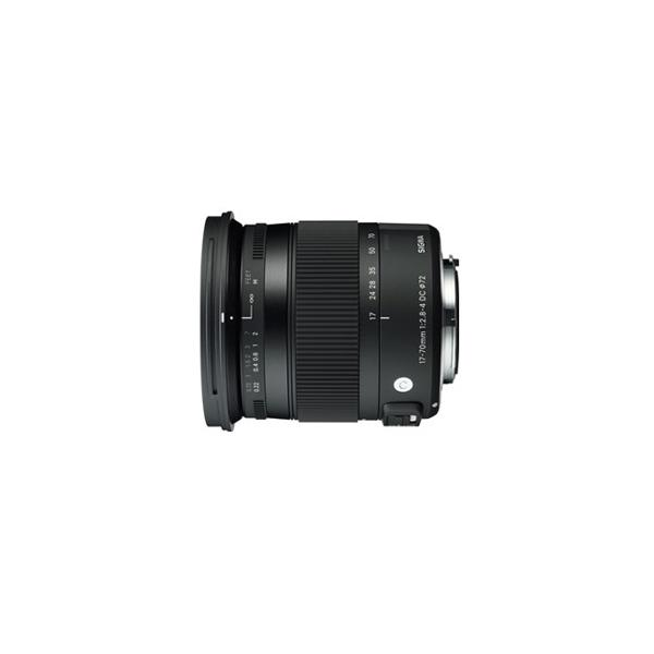 シグマ 17-70mm F2.8-4 DC MACRO OS HSM ※キヤノンEF-Sマウント用レンズ(APS-Cサイズ用) 17-70/ 2.8-4DCOSHSMEO 返品種別A