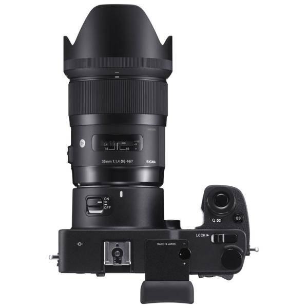 シグマ ミラーレス一眼カメラ「SIGMA sd Quattro H」35mmF1.4 DGキット SD QUATTROH&35MMF1.4 返品種別A