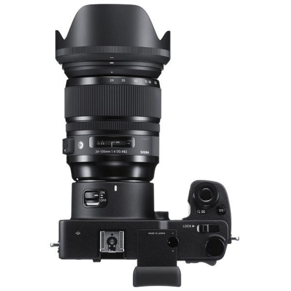 シグマ ミラーレス一眼カメラ「SIGMA sd Quattro H」24-105mmF4 DG OS HSMキット SD QUATTROH&24-105MM 返品種別A