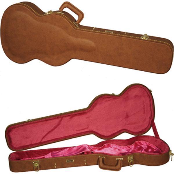 ゲーター 木製ギターケース SG用 GATOR GW-SG-BROWN 返品種別A