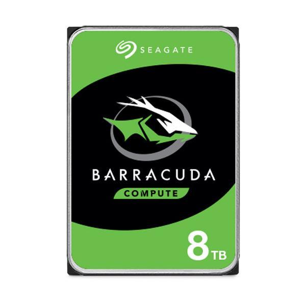 Seagate (バルク品)3.5インチ 内蔵ハードディスク 8.0TB BarraCuda ST8000DM004 返品種別B|joshin