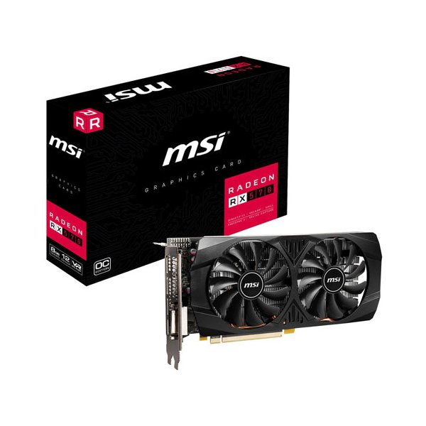 MSI PCI Express 3.0x16対応 グラフィックスボードMSI Radeon RX 570 8GT OCV1 Radeon RX 570 8GT OCV1 返品種別B