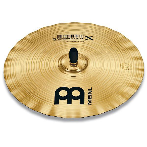"""マイネル Generation X シリーズ Drumbals Johnny Rabb'sシグネイチャーシンバル 10インチ MEINL Generation X Drumbals GX-10DB 10"""" GX-10DB10"""" 返品種別A"""