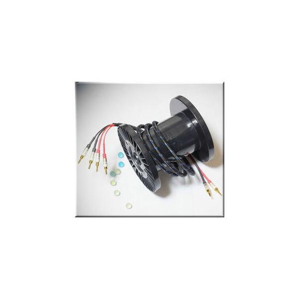 DHラボ 完成品スピーカーケーブル(2.0m・ペア)(バイワイヤ仕様) DH Labs Q-10 SIGNATURE Bi-wire Q-10SIG2.0BW 返品種別A