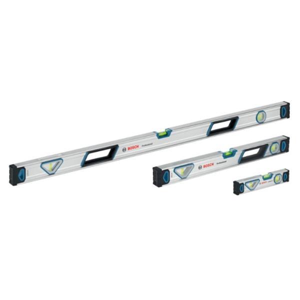ボッシュ 水平器 3サイズセット(250mm/ 600mm/ 1200mm) 水平レベル 1600 A01 6BS 返品種別B