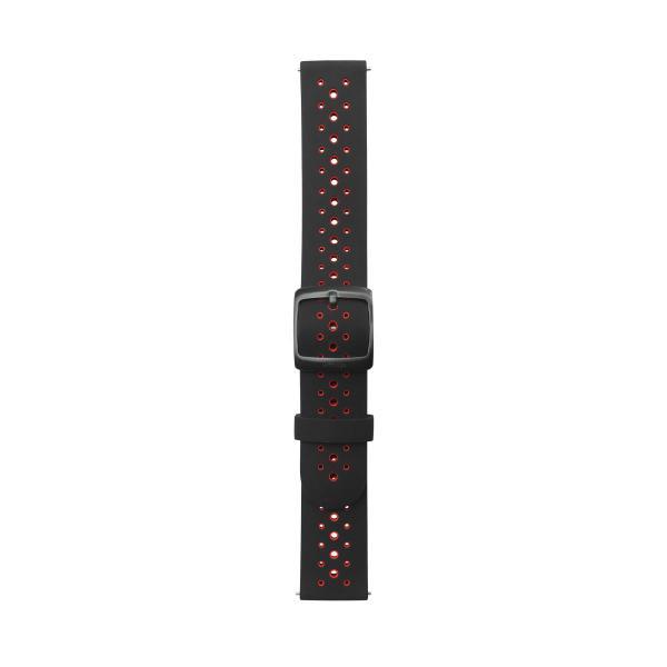 ノキア(Withings) 取り替えリストバンド(Black Bicolore Silicone)Black Bicolore Silicone Sport wristband SILICONE WRISTBANDSB 返品種別A