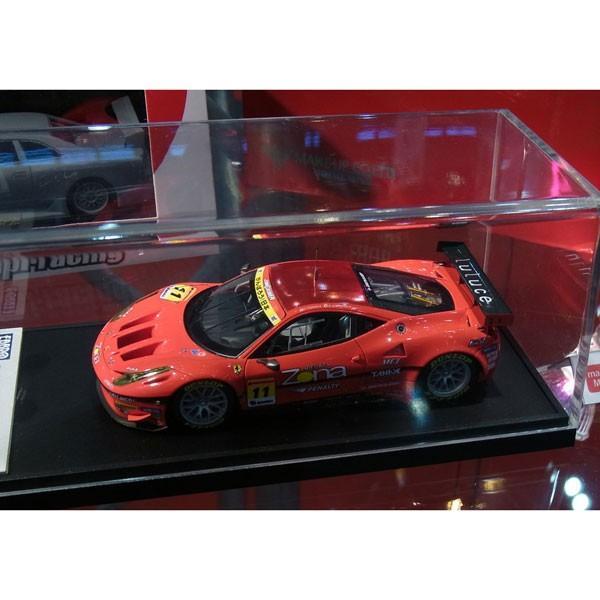 1/43 エブロ ジムゲイナー ディクセル ダンロップ 458 GTC スーパー GT300 2011