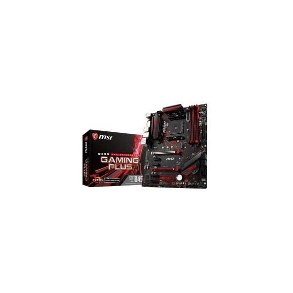 MSI ATX対応マザーボードB450 GAMING PLUS B450 GAMING PLUS 返品種別B|joshin
