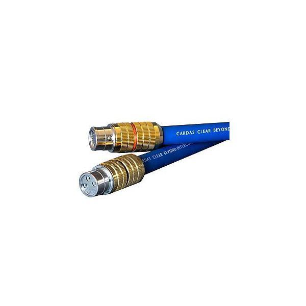 カルダス XLRケーブル(1.5m・ペア)クリア・ビヨンド(受注生産品)Cardas CG XLR端子 Cardas Audio Clear Beyond CLEARBEYON CGXLR1.5 返品種別B
