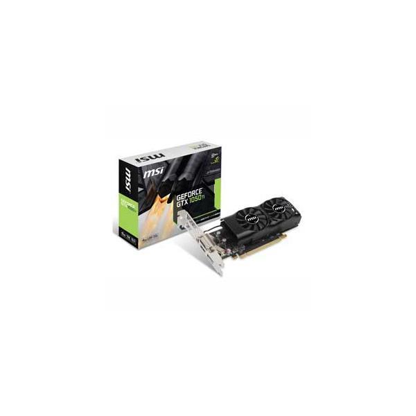 MSI PCI-Express 3.0 x16対応 グラフィックスボードMSI GeForce GTX 1050 Ti 4GT LP GTX 1050 TI 4GT LP 返品種別B