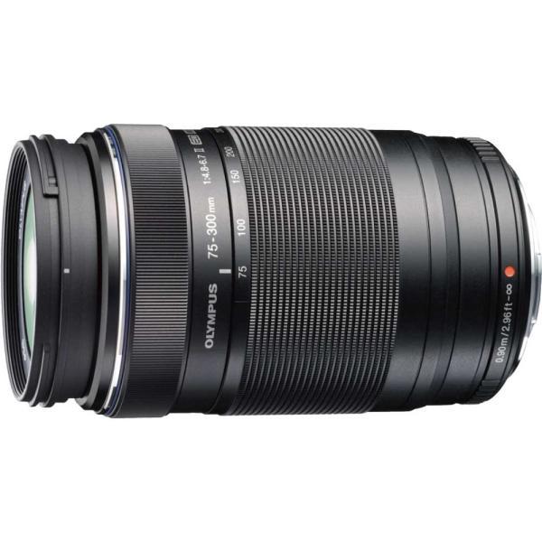 オリンパス M.ZUIKO DIGITAL ED 75-300mm F4.8-6.7 II ※マイクロフォーサーズ用レンズ ED75-300MMF4.8-6.7 2 返品種別A