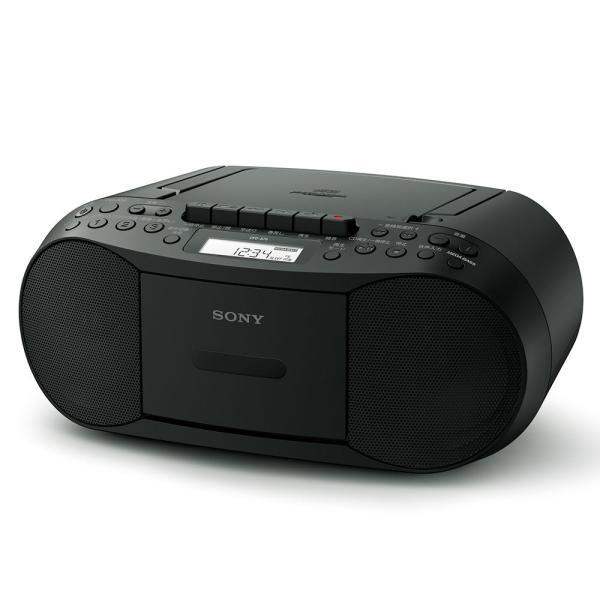 ソニー CDラジカセ(ブラック) SONY CFD-S70-B 返品種別A|joshin