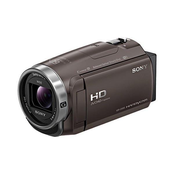 ソニー デジタルHDビデオカメラ「HDR-CX680」(ブロンズブラウン) ハンディカム HDR-CX680 TI 返品種別A|joshin
