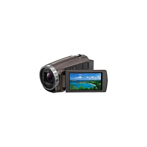 ソニー デジタルHDビデオカメラ「HDR-CX680」(ブロンズブラウン) ハンディカム HDR-CX680 TI 返品種別A|joshin|02