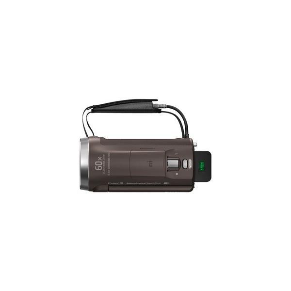 ソニー デジタルHDビデオカメラ「HDR-CX680」(ブロンズブラウン) ハンディカム HDR-CX680 TI 返品種別A|joshin|03