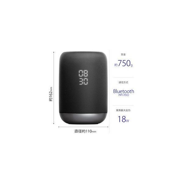 ソニー スマートスピーカー(ブラック) SONY Googleアシスタント搭載スマートスピーカー LF-S50G-B 返品種別A