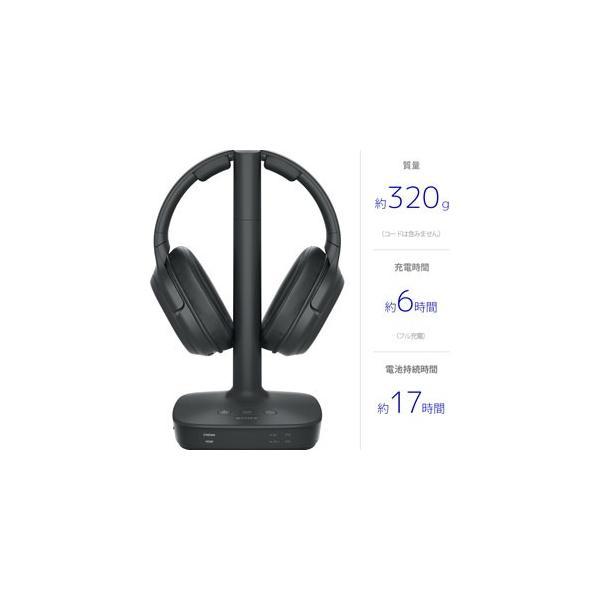 ソニー 7.1ch対応デジタルサラウンドヘッドホンシステム SONY WH-L600 返品種別A|joshin|02