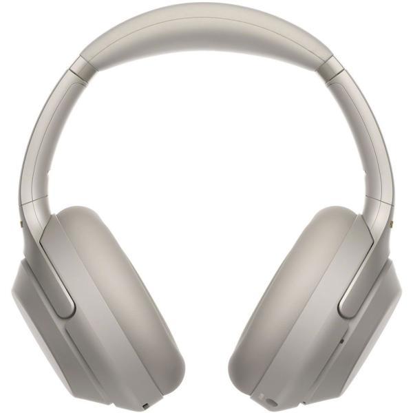 ソニー ノイズキャンセリング機能搭載Bluetooth対応ダイナミック密閉型ヘッドホン(プラチナシルバー) SONY 1000Xシリーズ WH-1000XM3S 返品種別A|joshin