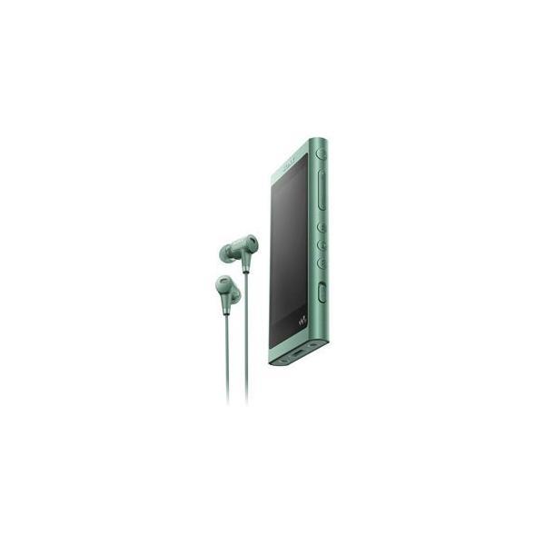 ソニー メモリープレーヤー NW-A55HN G ホライズングリーン 容量:16GBの画像
