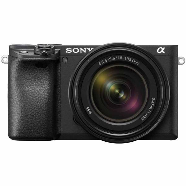 ソニー ミラーレス一眼カメラ「α6400」高倍率ズームレンズキット SONY ILCE-6400M-B 返品種別A