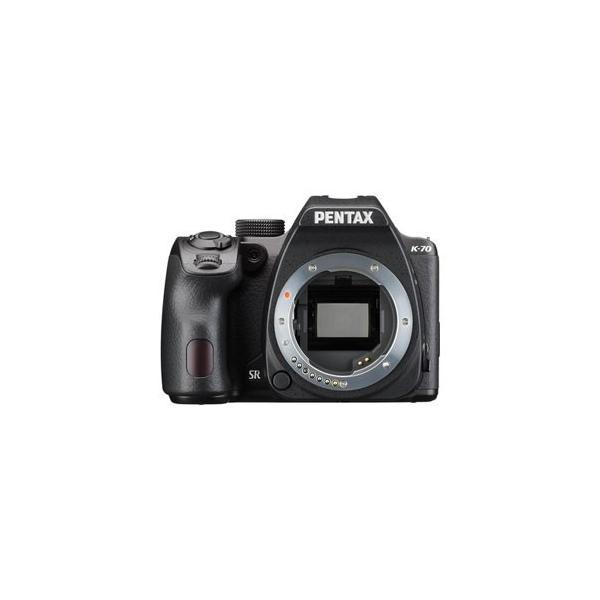 ペンタックス デジタル一眼レフカメラ「PENTAX K-70」ボディ(ブラック) K-70ボデイブラツク 返品種別A
