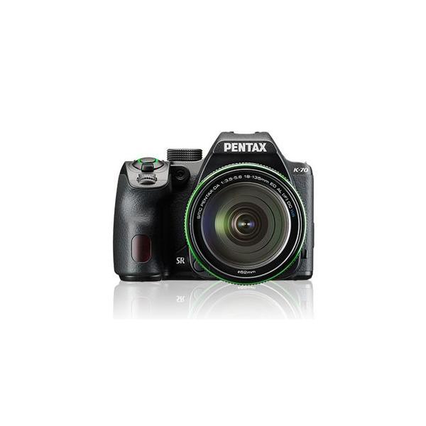 ペンタックス デジタル一眼レフカメラ「PENTAX K-70」18-135WR レンズキット(ブラック) K-70-18-135ブラツク 返品種別A
