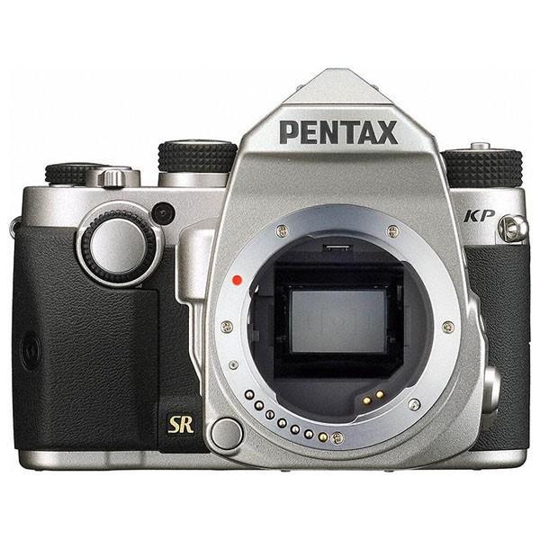 ペンタックス デジタル一眼レフカメラ「PENTAX KP」ボディ(シルバー) KPシルバー 返品種別A