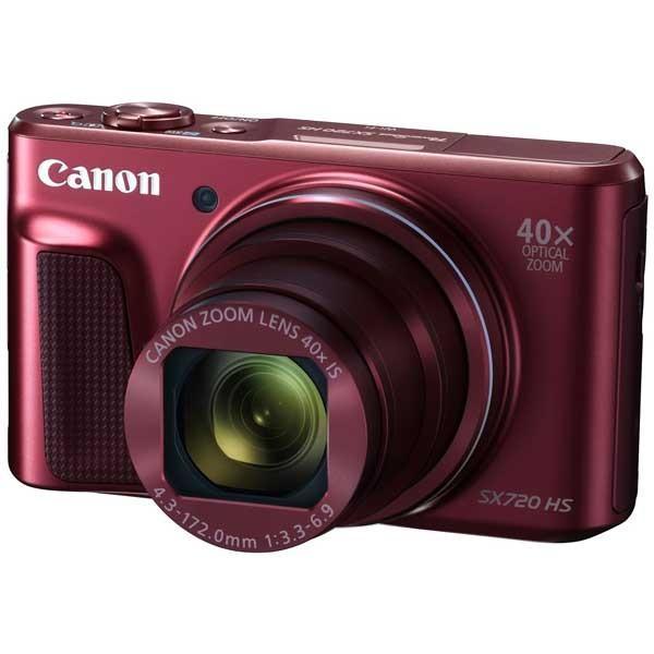 キヤノン デジタルカメラ「PowerShot SX720 HS」(レッド) PSSX720HS(RE) 返品種別A