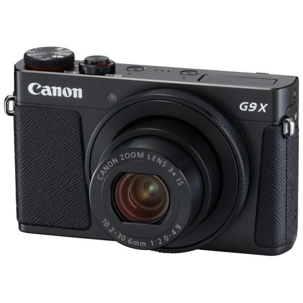 キヤノン デジタルカメラ「PowerShot G9 X Mark II」(ブラック) PSG9XMARK2(BK) 返品種別A