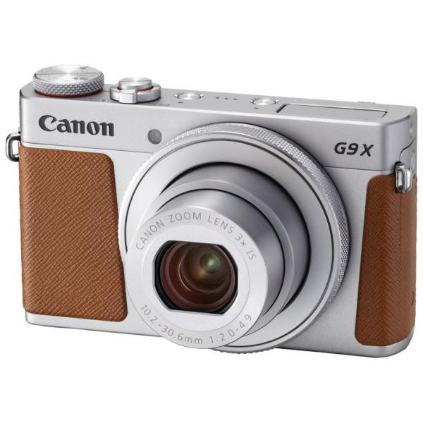 キヤノン デジタルカメラ「PowerShot G9 X Mark II」(シルバー) PSG9XMARK2(SL) 返品種別A