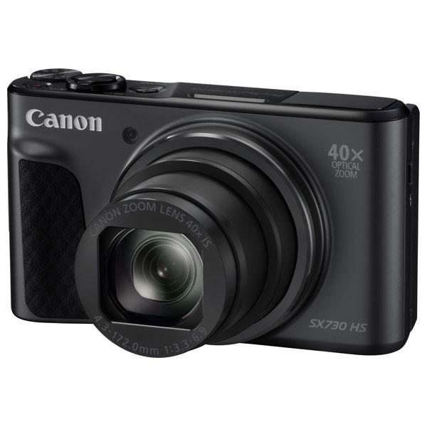 キヤノン デジタルカメラ「PowerShot SX730 HS」(ブラック) PSSX730HS(BK) 返品種別A