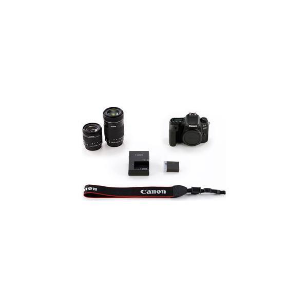 キヤノン デジタル一眼レフカメラ「EOS 9000D」ダブルズームキット EOS9000D-WKIT 返品種別A|joshin|04