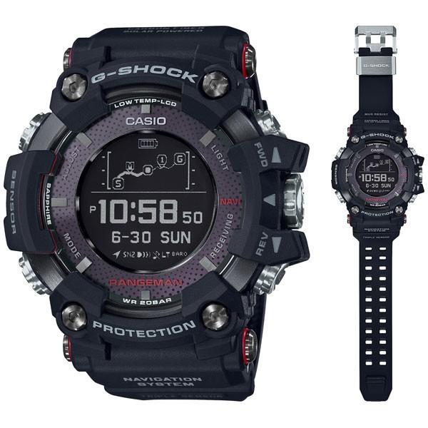 2c968bfa85 カシオ G-SHOCK RANGEMANGショック Bluetooth搭載 GPSソーラーアシスト メンズタイプ GPR-B1000-1JR 返品種別A