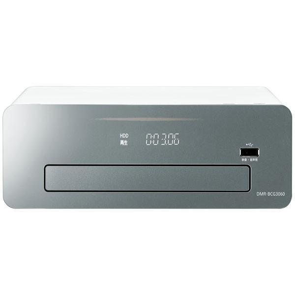 パナソニック 3TB HDD/ 6チューナー搭載 3D対応ブルーレイレコーダー Panasonic DIGAおうちクラウドディーガコンパクトタイプ DMR-BCG3060 返品種別A