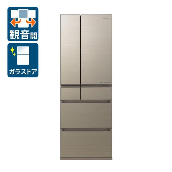 (標準設置)パナソニック500L6ドア冷蔵庫(アルベロゴールド)PanasonicHPXタイプNR-F507HPX-N返品種別A