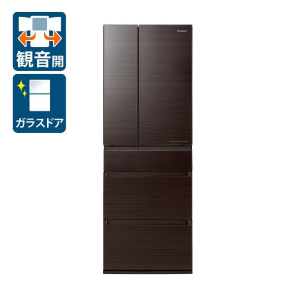 (標準設置)パナソニック500L6ドア冷蔵庫(アルベロダークブラウン)PanasonicHPXタイプNR-F507HPX-T返品