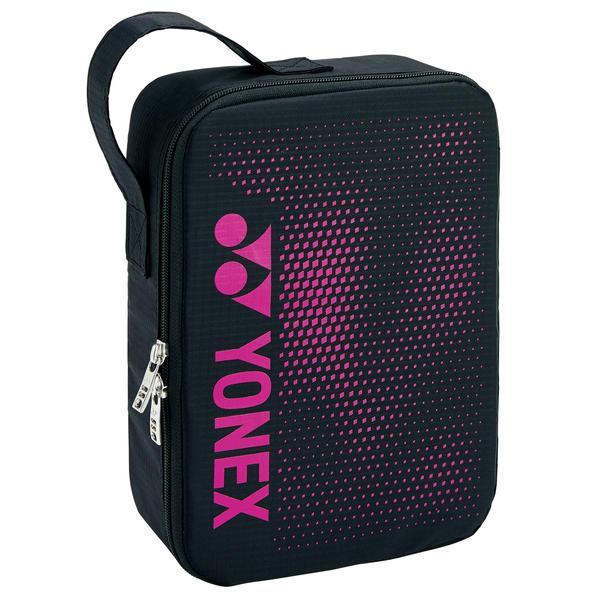 ヨネックス ランドリーポーチ M(ブラック/ ピンク) YONEX SUPPORT series YO-BAG2096M181 返品種別A